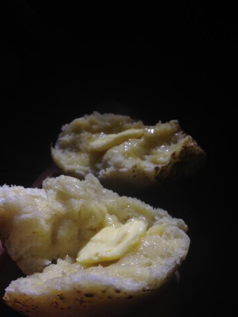 A luxury smidge of butter