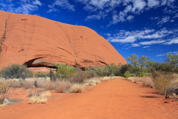 Walking track around Uluru (pic: Caro Ryan)