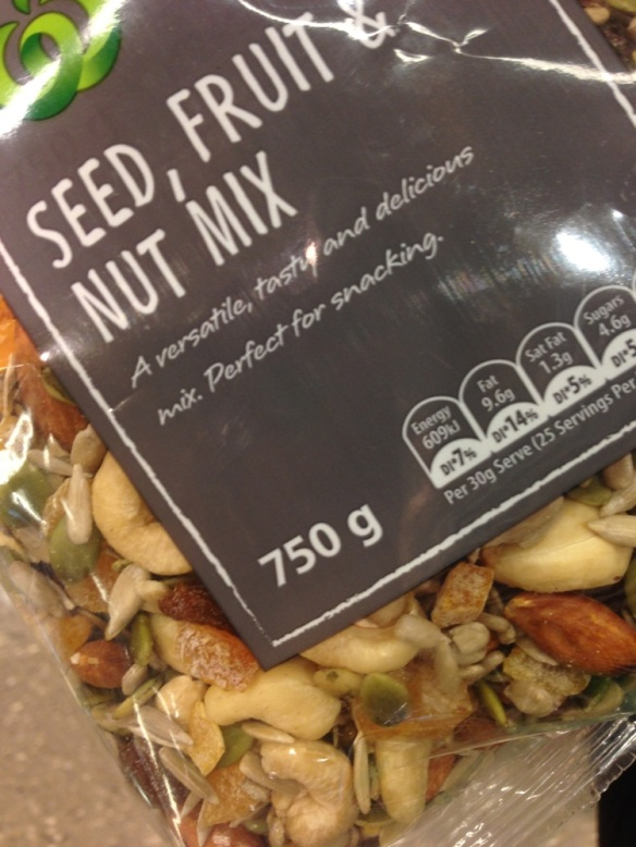 Seeds, Fruit & Nuts - The foundation of every good Scroggin.