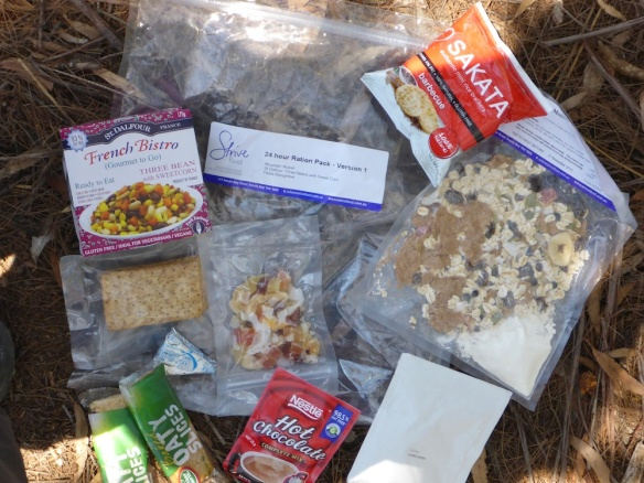 Let someone else do all the work - Strive Food 24hr Ration Pack.